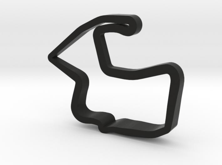 Mazda Raceway Laguna Seca Model 3d printed