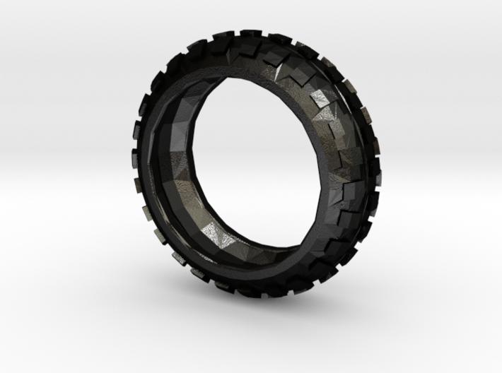 Motorcycle/Dirt Bike/Scrambler Tire Ring Size 9 3d printed
