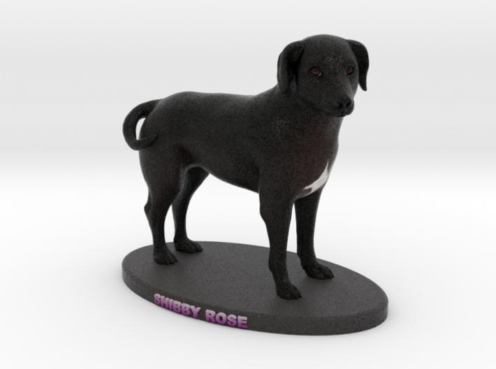 Custom Dog Figurine - Shibby 3d printed