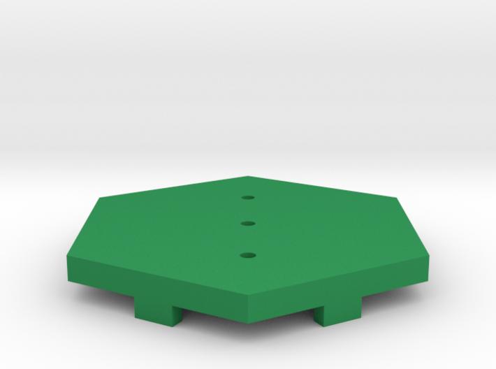 Grass Field Tile 3d printed