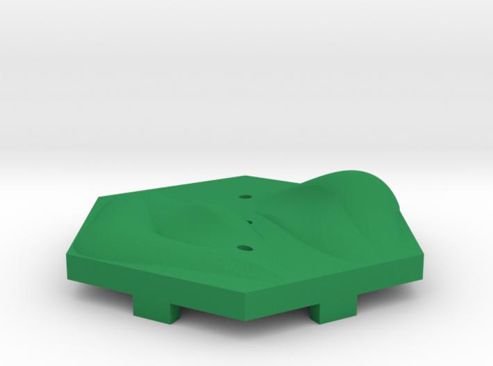 Grass Hills Tile 3d printed