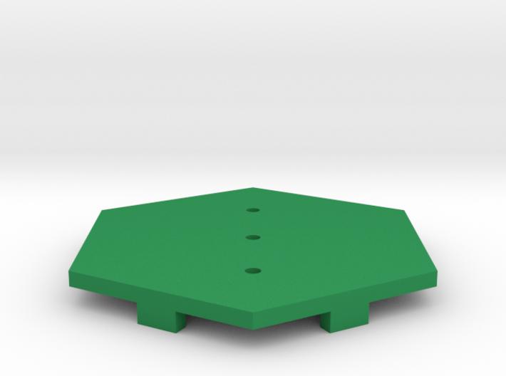 Swamp / Marsh Tile 3d printed