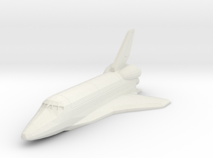 Space Shuttle spacecraft 3d printed