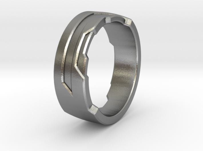 Ring Size O 3d printed