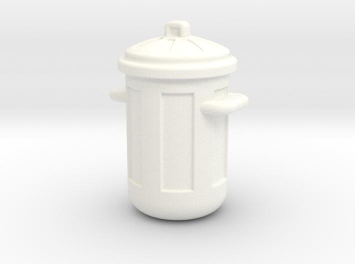 Cubo de Basura Estilo Americano 3d printed