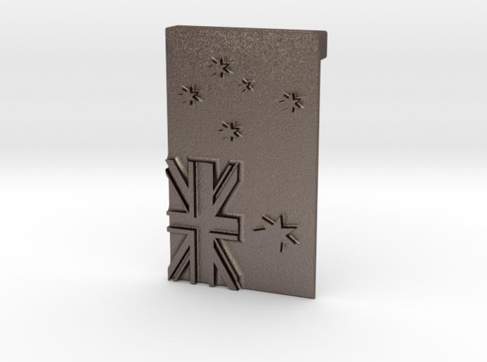 Australian Flag Belt Buckle 3d printed