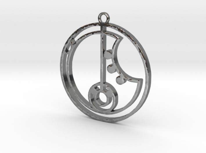 Kira - Necklace 3d printed