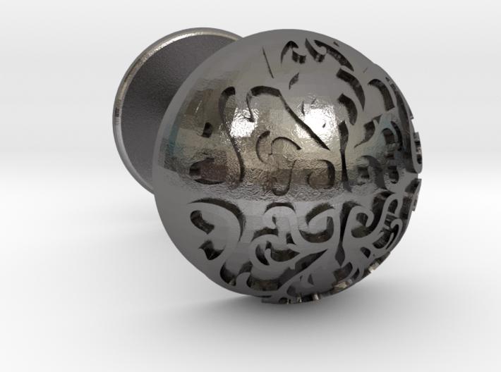 Button Cuff 3d printed