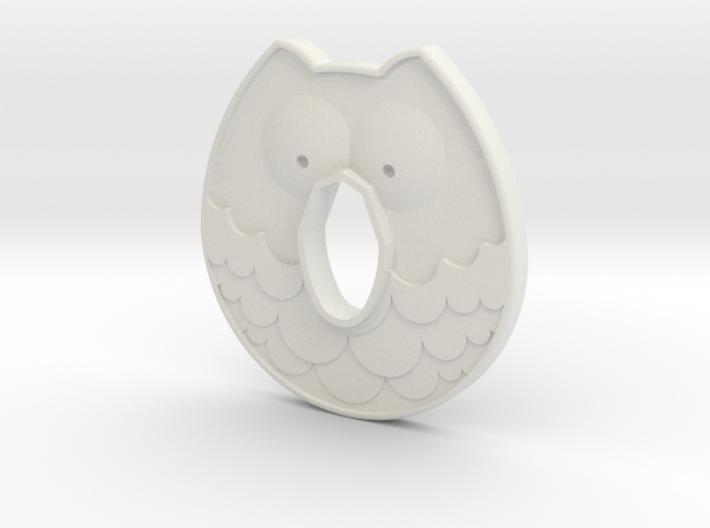Cold Steel Bokken Tsuba - Owl 3d printed
