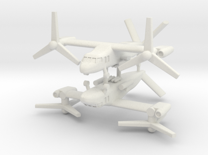 1/285 Bell V-280 Valor (x2) (Attack) 3d printed