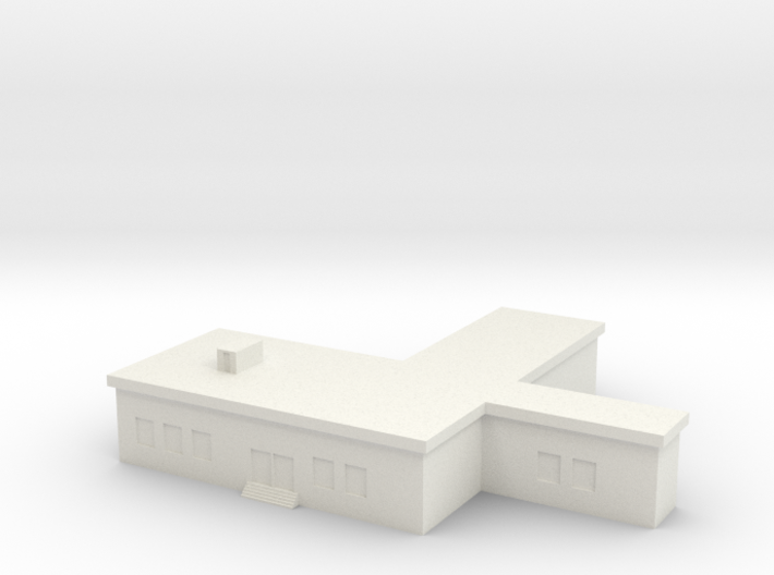 1/600 Command Building 3d printed