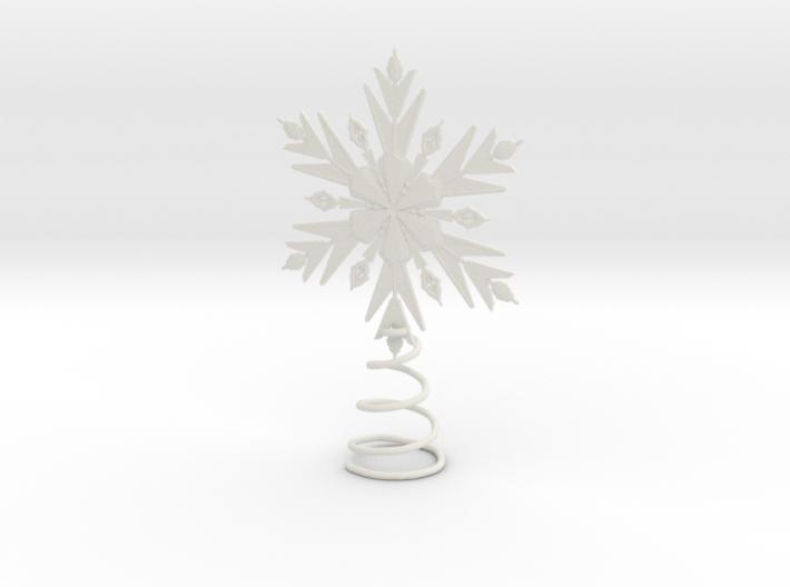 Elsa Snowflake Tree Topper 3d printed
