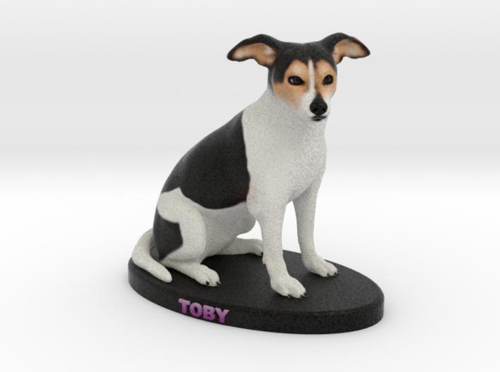Custom Dog Figurine - Toby 3d printed