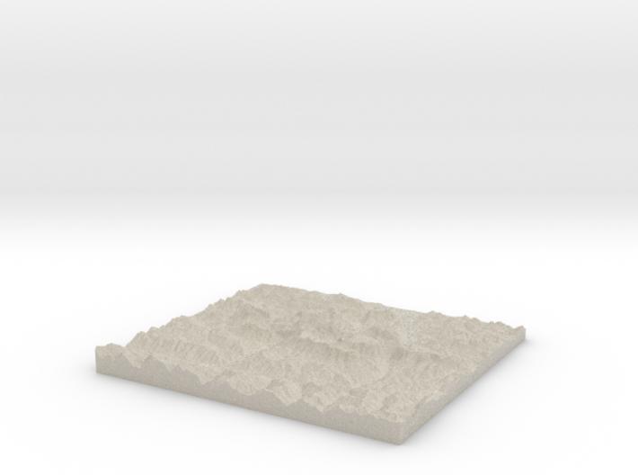 Model of Funtensee 3d printed