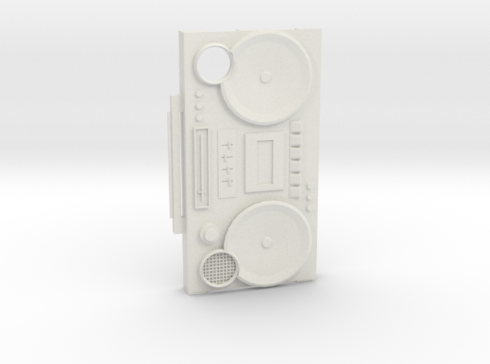 Iphone4/S Boombox case 3d printed