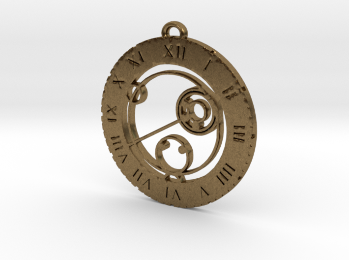 Kallie - Pendant 3d printed