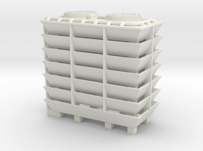 Cooling Tower - HOscale 3d printed