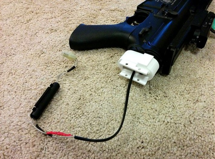 M4 Receiver Picatinny Mount Adapter Mark I 3d printed
