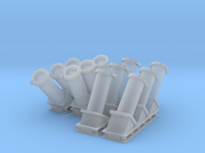 1:72 MK36 SRBOC Chaff Launcher 3d printed