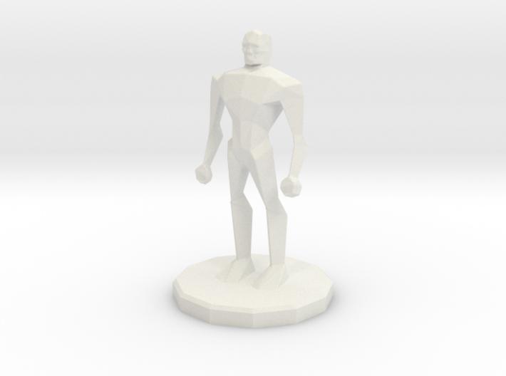 Generic hero 3d printed