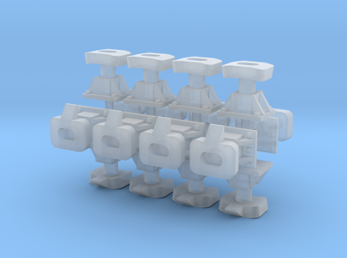 009 / H0e Bosna Coupling 16 Coupling Nest 3d printed