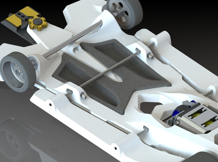 888sr-xl optional ballast tuning weight 3d printed