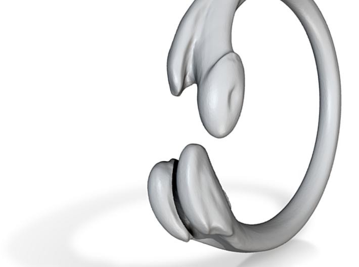 Femur Ring - size 7 3d printed
