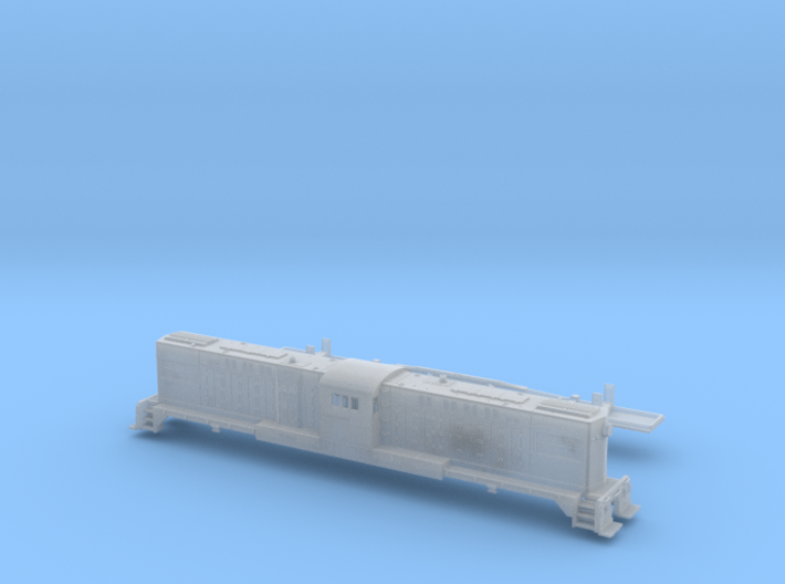 Baldwin RT-624 Center Cab Dummy N Scale 1:160 3d printed