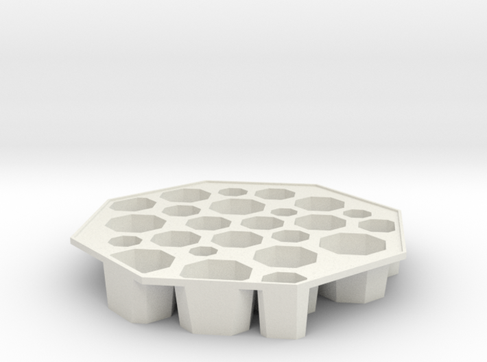 'Bogotá' Ice tray 3d printed