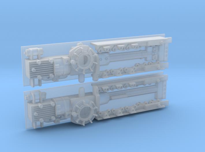 YT1300 HSBRO MANDIBLES SIDEWALLS ESB 3d printed