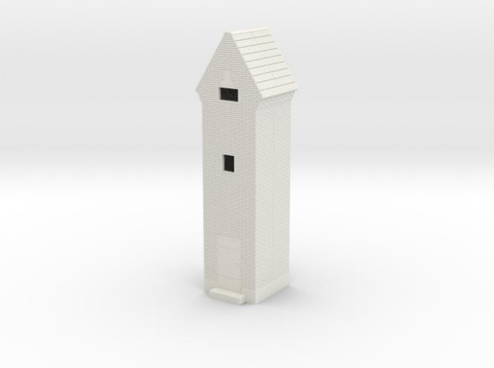 LEF Transformatortårn 1/87 3d printed