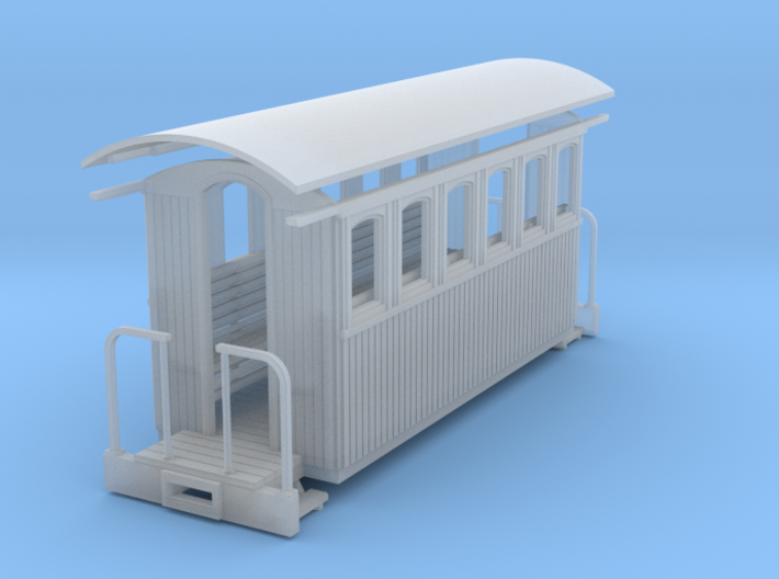 Sn2 short round roof coach 3d printed