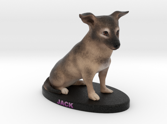 Custom Dog Figurine - Jack 3d printed