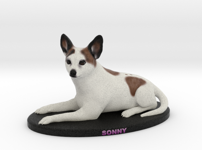 Custom Dog Figurine - Sonny 3d printed