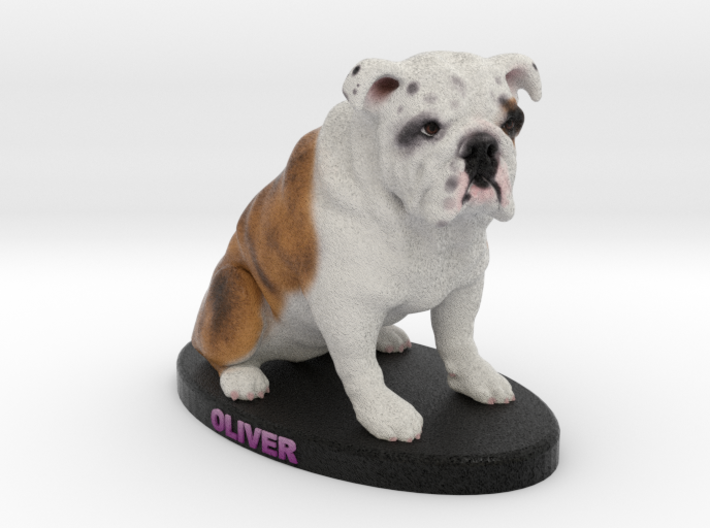 Custom Dog Figurine - Oliver 3d printed