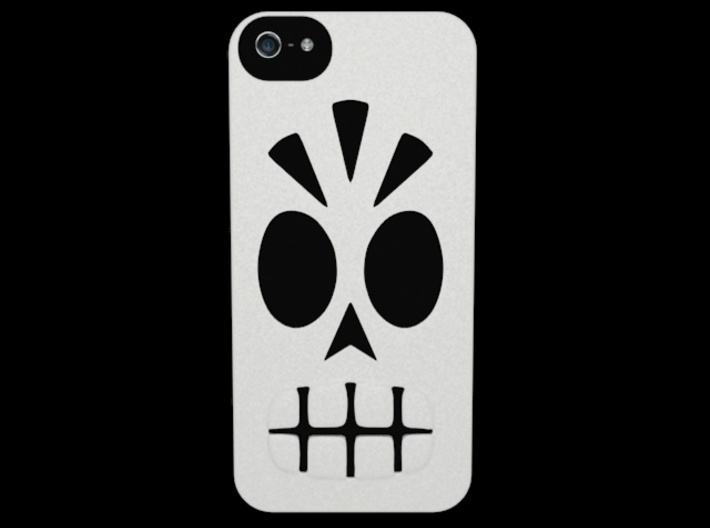 Calavera Iphone 5 Case 3d printed