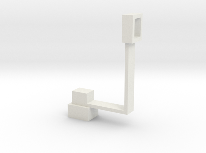 Masterpiece Sideswipe's Canonmount 3d printed