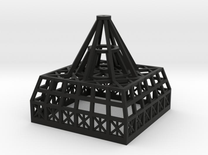 Primitive Dave - Temp 1.700 Spine Antenna Base 3d printed