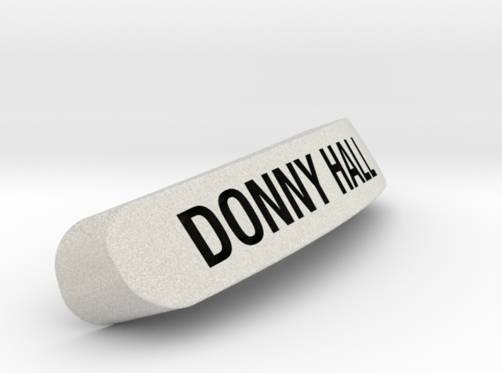 DONNY HALL Nameplate for SteelSeries Rival 3d printed