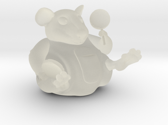 The Candy Mouse Color Version 3d printed