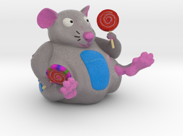 The Candy Mouse 2.5 Inch 3d printed