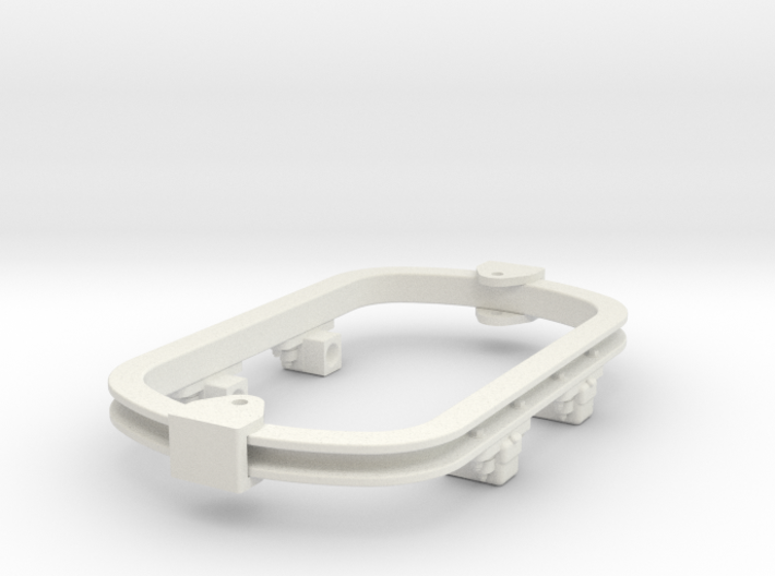 1:35 or Gn15 small skip underframe grease axlebox 3d printed