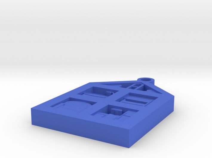Dollhouse Pendant 3d printed