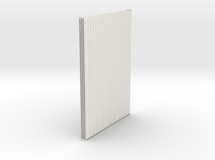 1:6 Corrugated panel x4 3d printed