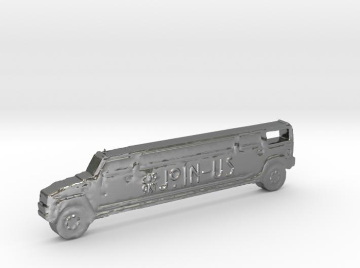 ZWOOKY Style 25 Sample - Hummer keyring 3d printed