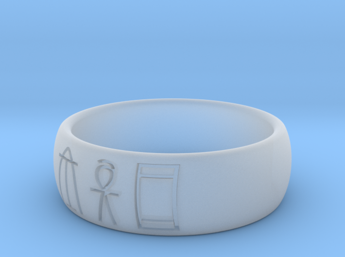 Linear B 6mm Wide Size 5.75 3d printed