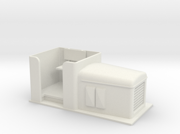 Gn15 small open O&K diesel loco 3d printed