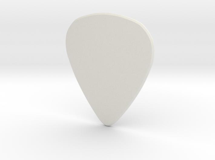 Guitar pick HARD 3d printed