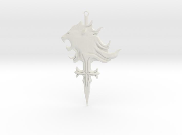 Griever Emblem (keychain size) V1 3d printed