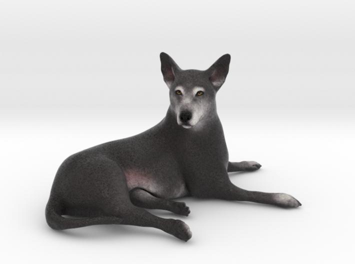 Custom Dog Figurine - Sneakers 3d printed